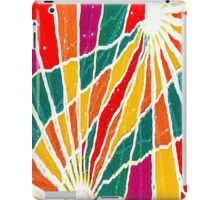 Multicolored Vibrations iPad Case/Skin