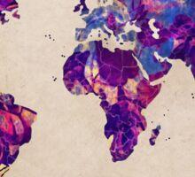 world map 20 Sticker