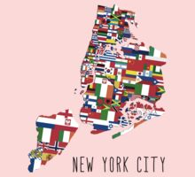 United Flags of New York City Kids Clothes
