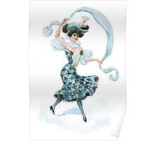 Edwardian Showgirl Poster