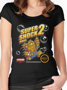 Super Shock Bros 2 Women's Fitted Scoop T-Shirt