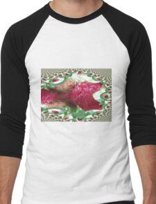 Raspberry Dream Men's Baseball ¾ T-Shirt