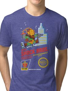 Super Shock Bros Tri-blend T-Shirt