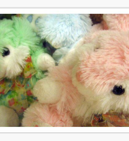 Pastel Bunnies Sticker