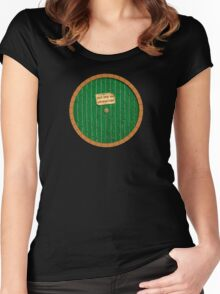Out for an Adventure Women's Fitted Scoop T-Shirt