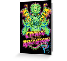 Cthulhu from the Black Lagoon Greeting Card