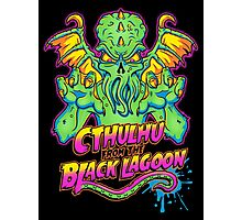 Cthulhu from the Black Lagoon Photographic Print