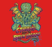Cthulhu from the Black Lagoon Kids Clothes
