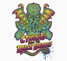 Cthulhu from the Black Lagoon One Piece - Long Sleeve