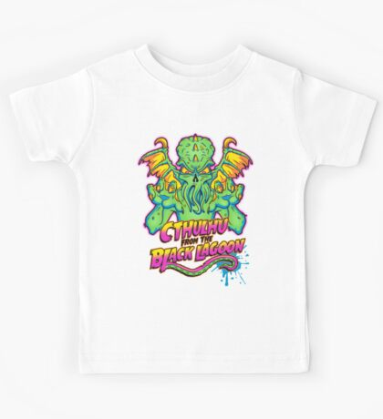 Cthulhu from the Black Lagoon Kids Tee