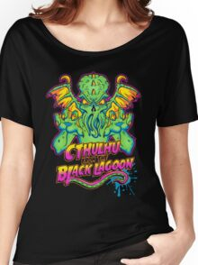 Cthulhu from the Black Lagoon Women's Relaxed Fit T-Shirt
