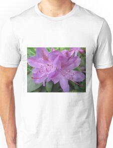 Purple Rhododendron  Unisex T-Shirt