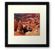 Most beautiful place on Earth Framed Print