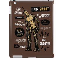 Groot Famous Quotes iPad Case/Skin