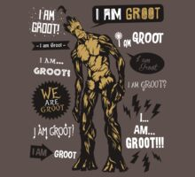 Groot Famous Quotes Kids Clothes