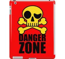 Danger Zone - Skull and Crossbones iPad Case/Skin