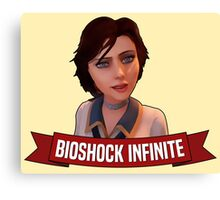 Elizabeth Bioshock Infinite Canvas Print