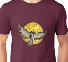 Owl in the Moonlight  Unisex T-Shirt