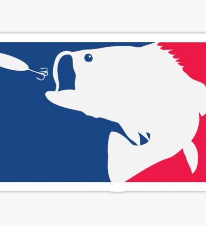 Bass fishing Sticker