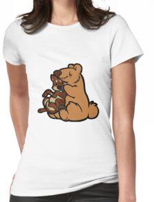 Bearhugs Womens Fitted T-Shirt