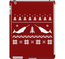 Ugly Narwhal Christmas Sweater iPad Case/Skin