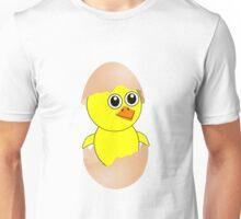 Funny Chick Cartoon Newborn Unisex T-Shirt