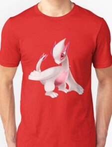 Shiny Lugia Pokemon Unisex T-Shirt