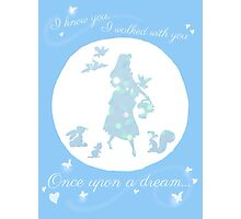 Once Upon a Dream (Make it Blue!) Photographic Print