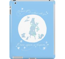 Once Upon a Dream (Make it Blue!) iPad Case/Skin