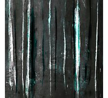 abstract  grey stripes Photographic Print