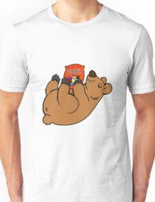 Candy Coated Chocolate Bear Unisex T-Shirt