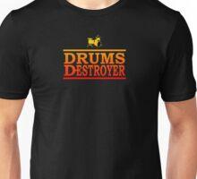 Colorful Drums Destroyer Unisex T-Shirt