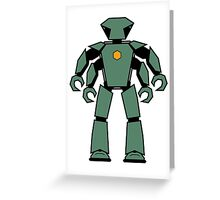 Vectorbot 016 Greeting Card