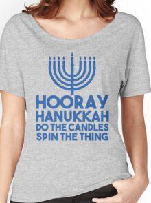 Hooray Hanukkah Women's Relaxed Fit T-Shirt