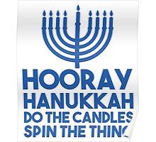 Hooray Hanukkah Poster