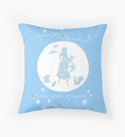 Once Upon a Dream (Make it Blue!) Throw Pillow