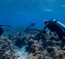 Scuba Diving Excavation by BravuraMedia