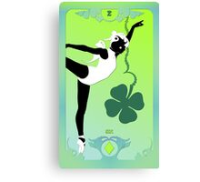 The Butterfly Circus Lenormand - Clover Canvas Print