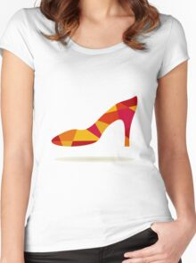 Shoes Women's Fitted Scoop T-Shirt