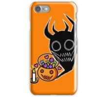 A Pumpkin and his Shadow iPhone Case/Skin