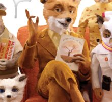 Fantastic Mr. Fox Family Sticker