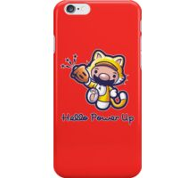 Hello Power Up iPhone Case/Skin