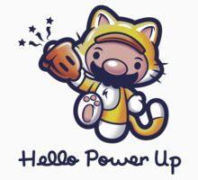 Hello Power Up One Piece - Short Sleeve