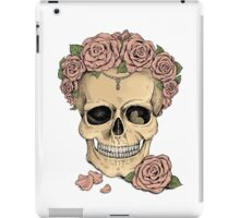 Memento mori iPad Case/Skin