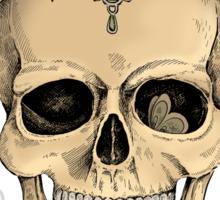 Memento mori Sticker