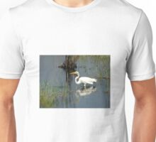Great White Heron Unisex T-Shirt