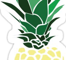 Graphic Pineapple Sticker