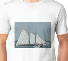 Sailing Boat in Norfolk Unisex T-Shirt