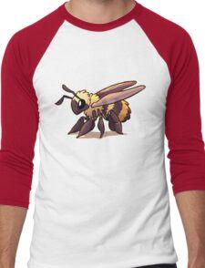 Cute Bee Men's Baseball ¾ T-Shirt