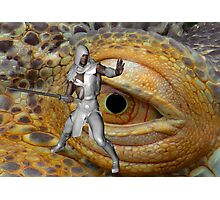 Dragon Slayer Photographic Print